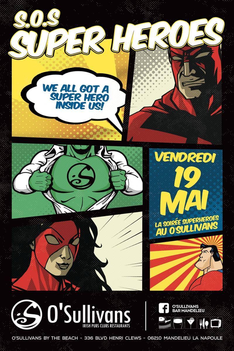 Sos-super-hero-dj-m4t-o'sullivans-mandelieu